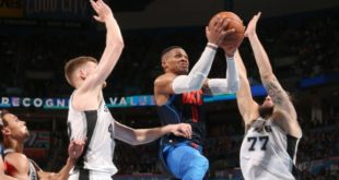 NBA Regular Season 2017/18: Westbrook e Curry straripanti, OKC e Golden State ringraziano!