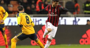 Video Gol Milan-Verona 3-0: Highlights e Tabellino Coppa Italia13-12-2017