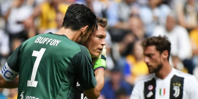 juventus hellas verona video gol highlights sintesi serie a 19 maggio 2018