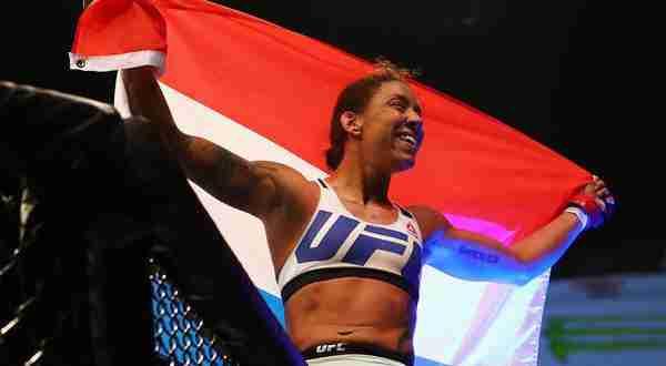 L'olandese de Randamie affronterà la Holm a UFC 208 per il titolo dei pesi piuma. (foto: Zimbio.com)