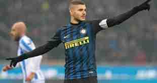 L'attaccante argentino dell'Inter Mauro Icardi. (foto: Zimbio.com)