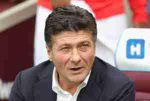 Il tecnico del Torino Walter Mazzarri. (foto: Zimbio.com)