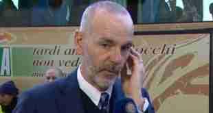 Stefano Pioli, tecnico dell'Inter.