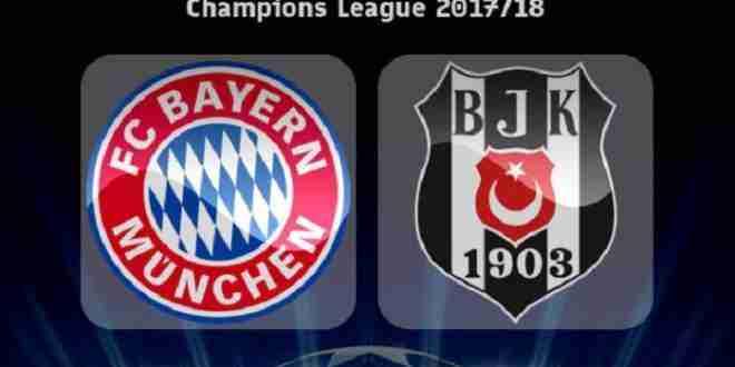Probabili formazioni Bayern-Besiktas