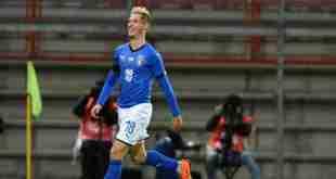 serbia italia under 21 0-1 video gol highlights sintesi tabellino amichevole
