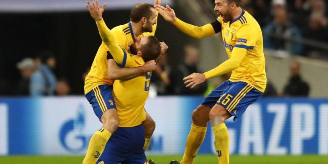 tottenham juventus 1-2 video gol highlights sintesi champions league ottavi finale ritorno