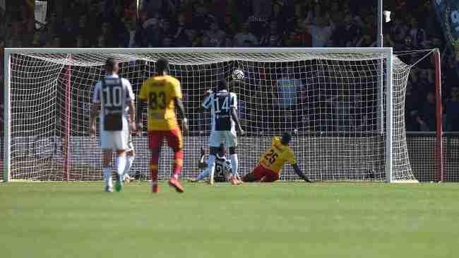 benevento juventus 1-1 gol diabaté