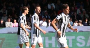 benevento juventus 1-2 gol dybala doppietta