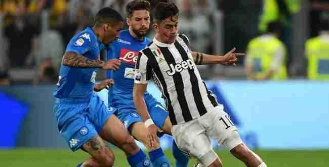 juventus napoli video gol highlights sintesi serie a 22 aprile 2018