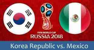 probabili formazioni Korea-Messico