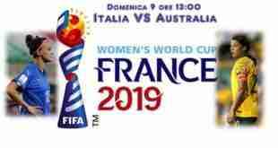 Italia Australia - prima giornata Gruppo C