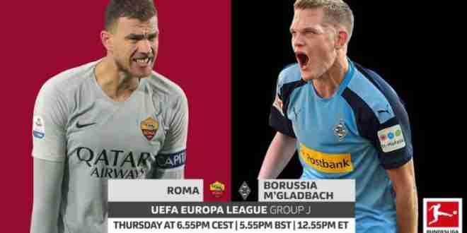 pronostico, uefa europa league, roma, borussia monchengladbach
