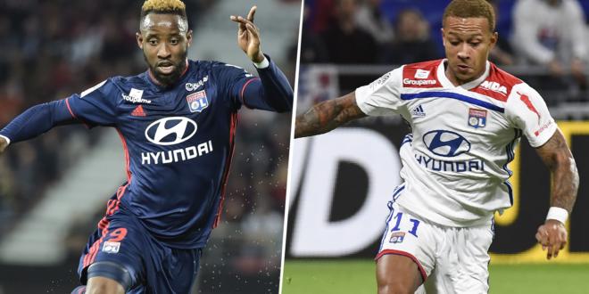Dembéle, Depay, Olympique Lyonnais, Ligue 1.