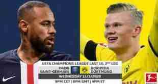 pronostico, uefa champions league, paris saint germain, borussia dortmund