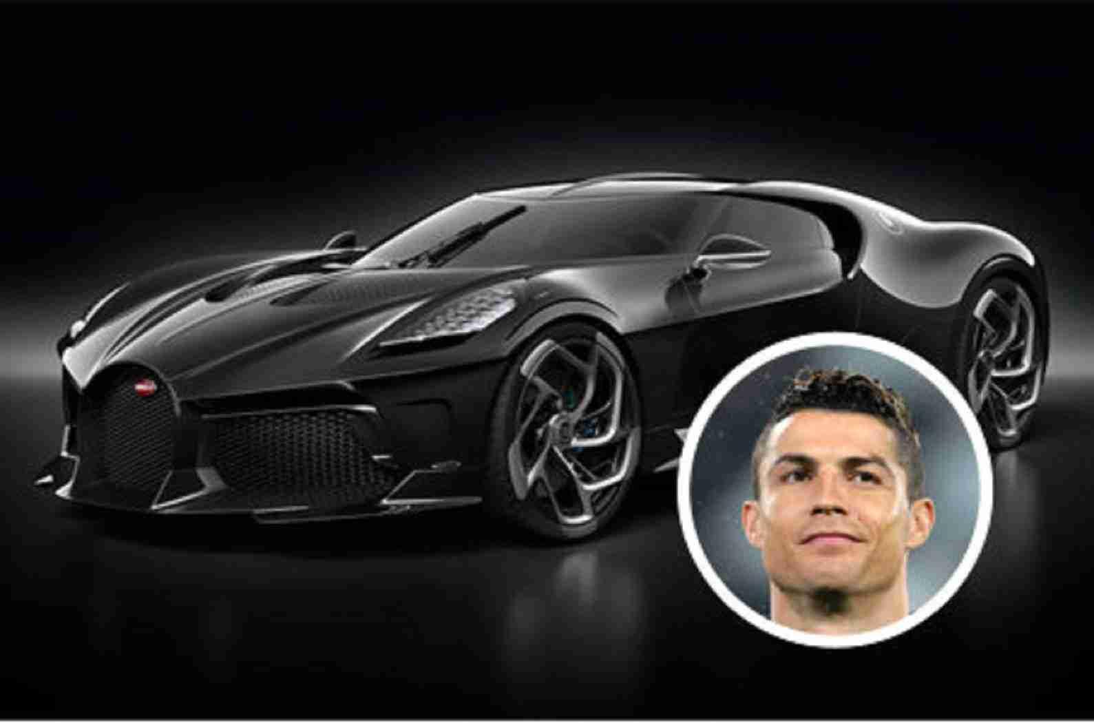 Ronaldos Bugatti