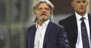 Sampdoria Ferrero fuorioso
