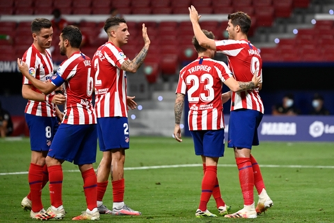 Atlético Madrid Gegen Mallorca