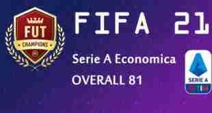 fut21 serie a economica 81 overall